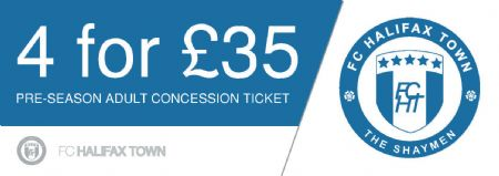 Pre-season ticket concession
